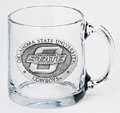 Oklahoma State Cowboys Clear Coffee Mug Set