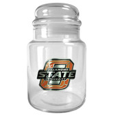 Oklahoma State Cowboys 31oz Glass Candy Jar - Primary Logo