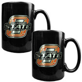 Oklahoma State Cowboys 2pc Coffee Mug Set