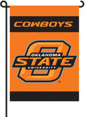 Oklahoma State Cowboys 2-Sided Garden Flag Set w/ #11213 Garden Pole