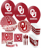 Oklahoma Sooners Party Supplies Pack #3
