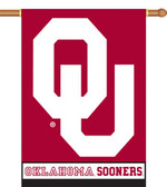 "Oklahoma Sooners 2-Sided 28"" x 40"" Banner w/ Pole Sleeve"