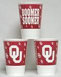 Oklahoma Sooners 16 oz Cups
