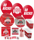 Ohio State Buckeyes Party Supplies Pack #3
