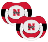 Nebraska Cornhuskers  Pacifier - 2 Pack
