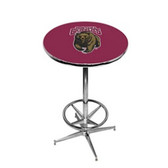 Montana Grizzlies Pub Table w/ Foot Ring Base