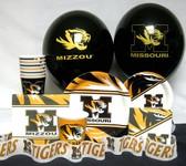 Missouri Tigers Party Supplies Pack #3