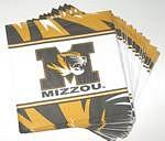Missouri Tigers Lunch Napkins