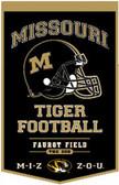 "Missouri Tigers 18""x27"" PowerHouse Wool Banner"