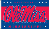 Mississippi Rebels 3 Ft. x 5 Ft. Flag w/Grommets