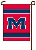 "Mississippi Rebels 11""x15"" Garden Flag"
