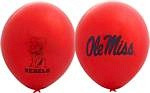 "Mississippi Rebels 11"" Balloons"