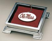Mississippi Ole Miss Rebels Cocktail Napkin Box