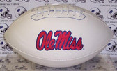 "Mississippi (Ole Miss) Runnin Rebels Embroidered Logo ""Signature Series"" Football"