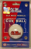 Mississippi   Rebels Cue Ball