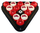 Mississippi   Rebels Billiard Ball Set