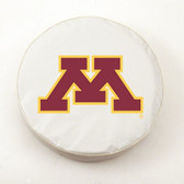 Minnesota Golden Gophers White Tire Cover, Large
