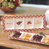 Minnesota Golden Gophers Ceramic Relish Tray