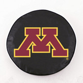 Minnesota Golden Gophers Black Tire Cover, Small