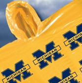 Michigan Wolverines Rainmate Hooded Poncho