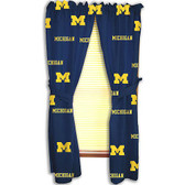 "Michigan Wolverines 42"" x 63"" Curtain Panels"