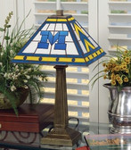 "Michigan Wolverines 23"" Mission Lamp"