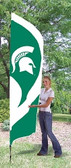 Michigan State Spartans Tall Team Flag