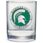 Michigan State Spartans Double Old Fashioned Glass Set