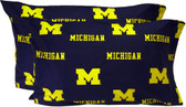Michigan Printed Pillow Case - (Set of 2) - Solid