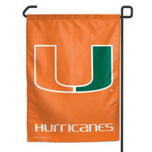 "Miami Hurricanes 11""x15"" Garden Flag"