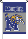 Memphis Tigers 2-Sided Garden Flag Set w/ #11213 Garden Pole