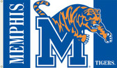 Memphis Tigers 3 Ft. x 5 Ft. Flag w/Grommets