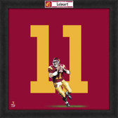 Matt Leinart USC Trojans 20x20 Framed Uniframe Jersey Photo
