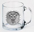 Marshall Thundering Herd Clear Coffee Mug Set