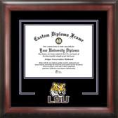 LSU Tigers Spirit Diploma Frame