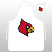 Louisville Cardinals Apron Set