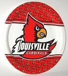 """Louisville Cardinals 9"""" Dinner Paper Plates"""