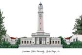 Louisiana State University Lithograph