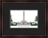 Louisiana State University Academic Framed Lithograph