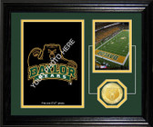 "Baylor Bears ""Fan Memories"" Bronze Coin Desktop Photo Mint"