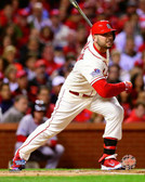 St Louis Cardinals Matt Holliday RBI Single Game 3 of the  World Series 16x20 Stretched Canvas