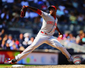 Cincinnati Reds Aroldis Chapman 2014 Action 16x20 Stretched Canvas
