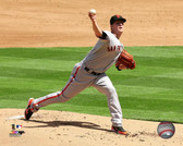 Sam Francisco Giants Matt Cain 2013 Action 20x24 Stretched Canvas