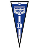 "Duke Blue Devils Duke Blue Devils 2015 NCAA Men's College Basketball National Champions Pennant Frame - 13""x33"""