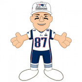 "New England Patriots 2015 Super Bowl Champions 10"" Plush Figure -Rob Gronkowski"