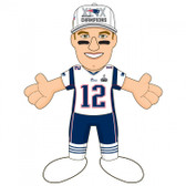 "New England Patriots 2015 Super Bowl Champions 10"" Plush Figure -Tom Brady"