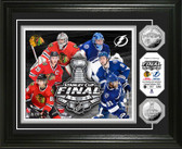 2015 Stanley Cup Final Silver Coin Photo Mint (Chicago vs. Tampa Bay)