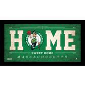 Boston Celtics 6x12 Home Sweet Home Sign