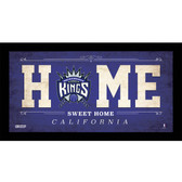 Sacramento Kings 6x12 Home Sweet Home Sign