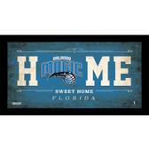 Orlando Magic 6x12 Home Sweet Home Sign